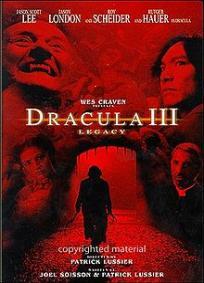 Drácula 3 - O Legado Final