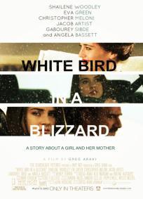 Pássaro Branco na Nevasca