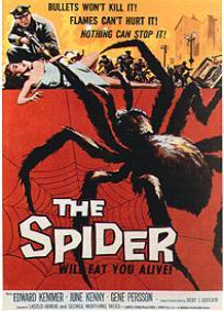 A Maldição da Aranha (1958)